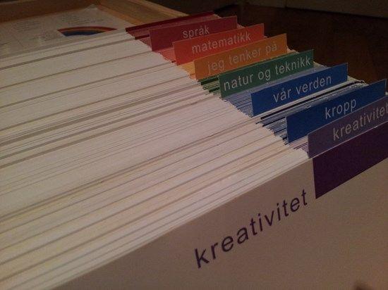 Skilleark til Skattekista for et enklere og mer oversiktlig system.