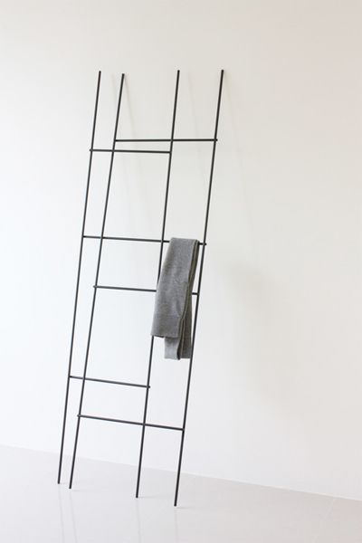 Ladder Coat Rack  Inspired by traditional ladders, former Konstfack student, Yenwen Tseng created the Ladder Coat Rack.