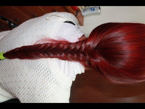 Como tinturar el cabello de rojo. How to dye hair red with infrared mani...