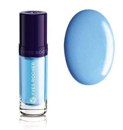 Yves Rocher, Botanical Colour Nail Polish, Aqua Blue