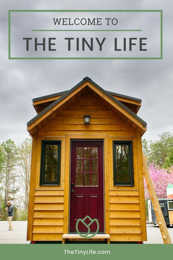 Simple Living In A Tiny House Cheap Tiny House Tiny House Big