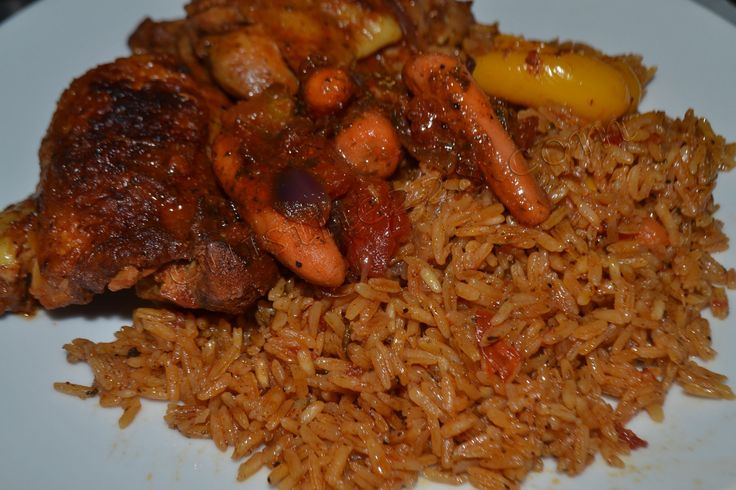 Riz au gras au poulet ;) | cuisine 228