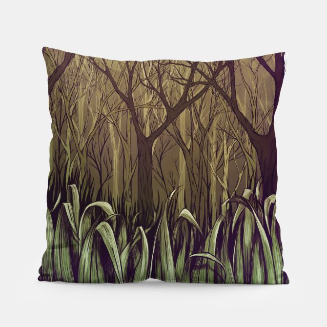 In the forest Pillow