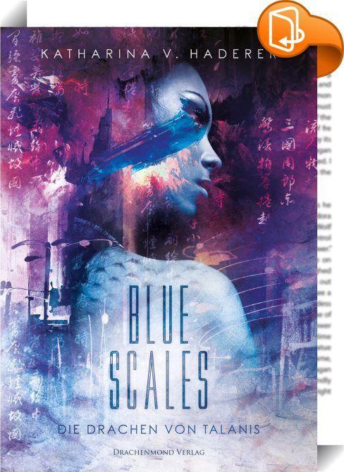 """Blue Scales    :  """"Ich träume von Wölfen. Mit hechelnden Zungen graben sie die Nasen in die Erde und suchen den Boden nach mir ab. Schwarze Schatten gleiten durch die Nacht, gelbe Augen leuchten wie die Verdoppelung des Himmelsgestirns auf. Egal wohin ich gehe - Augen. Sie schließen sich, ich stehe in der Finsternis."""" Ein Rudel wölfischer Gestaltenwandler ist in die Stadt gekommen, um eine alte Rechnung zu begleichen: Der Alpha-Wolf will der Familie Song ihren Platz in der Hexade strei..."""