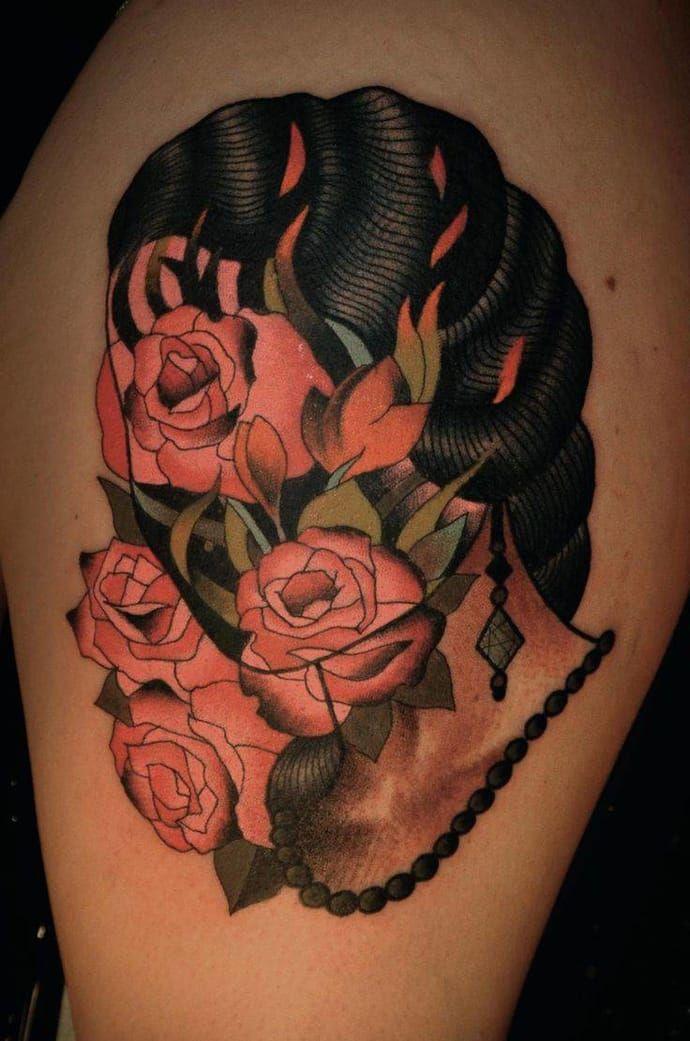 Best Interesting Tattoos Images On Pinterest Animal Tattoos - Polish artist creates elegant animal tattoos finished in vibrant colours