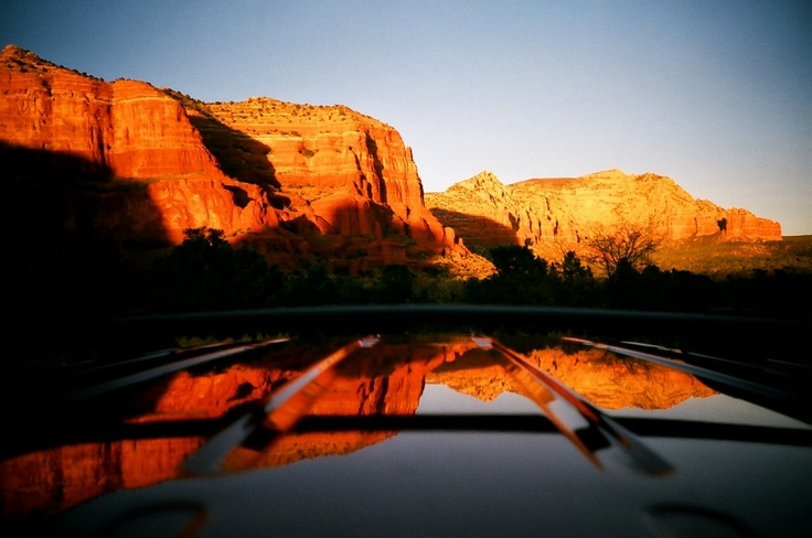 Driving to Sedona '09