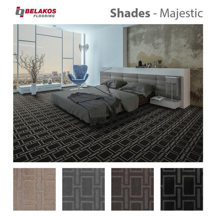 Shades - Majestic: Shades collectie bestaat uit 4 dessins en 4 kleuren en zeer geschikt voor de hospitality markt. #tapijt #carpet #teppich #solutiondyednylon #hospitality #projectontwikkeling #hotel #restaurant #onderhoudsvriendelijk #chloorbestendig #Uv-licht stendig