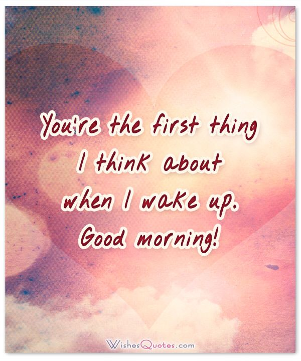 Romantic Morning Quotes For Her: 1000+ Ideas About Romantic Good Morning Messages On