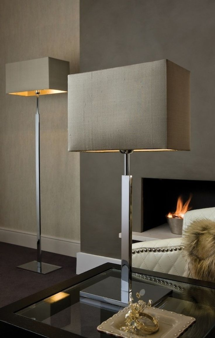 Modern table lamps for living room - Love These Lamps More Living Room Table