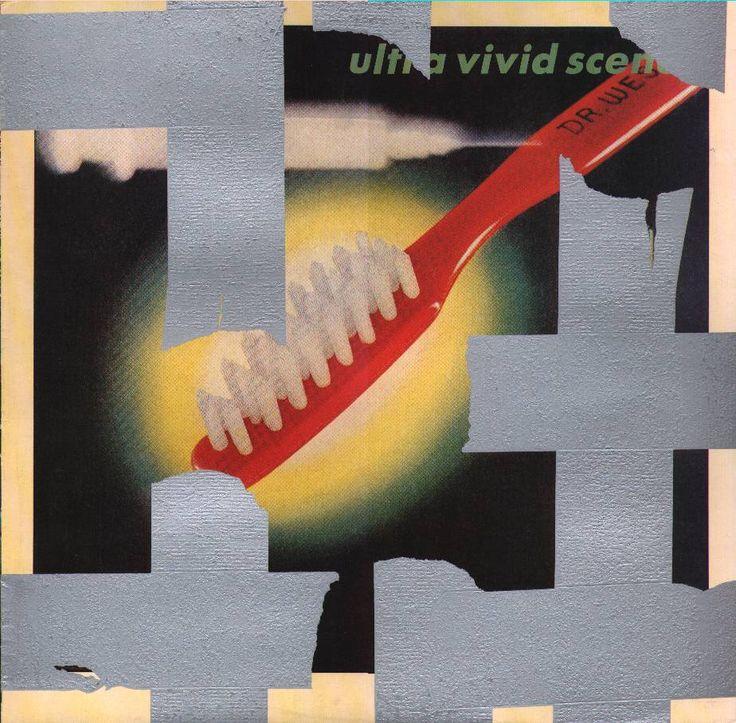 ULTRA VIVID SCENE - Self title album 1989 / Sleeve design by Vaughan Oliver.