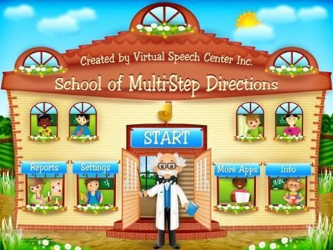 *** Multi Step Directions App : Winner of 20th Annual BESSIE Awards (Best Educational Software Awards)