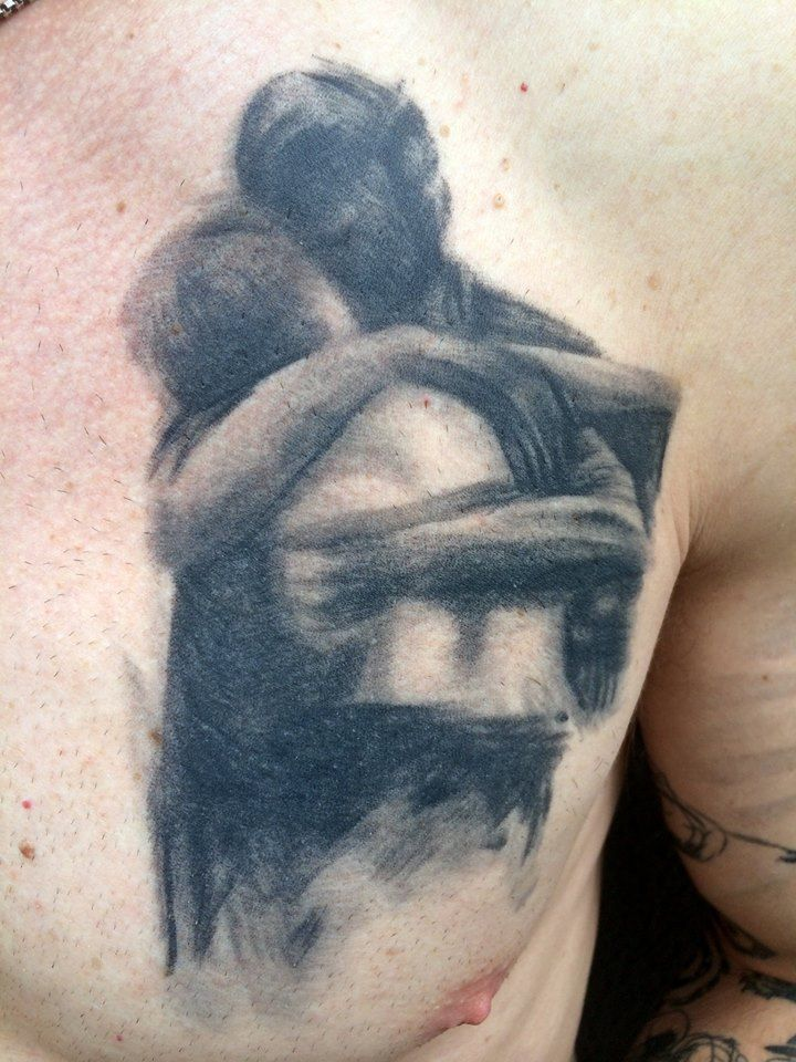 104 best my tattoo portfolio images on pinterest for Father son tattoos