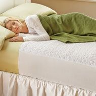 Quilted Waterproof Bed Pad from Collections Etc.