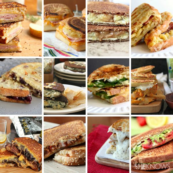 12 Creative grilled cheese sandwich recipes..  (you can't better a simple grilled sandwich) love it.....