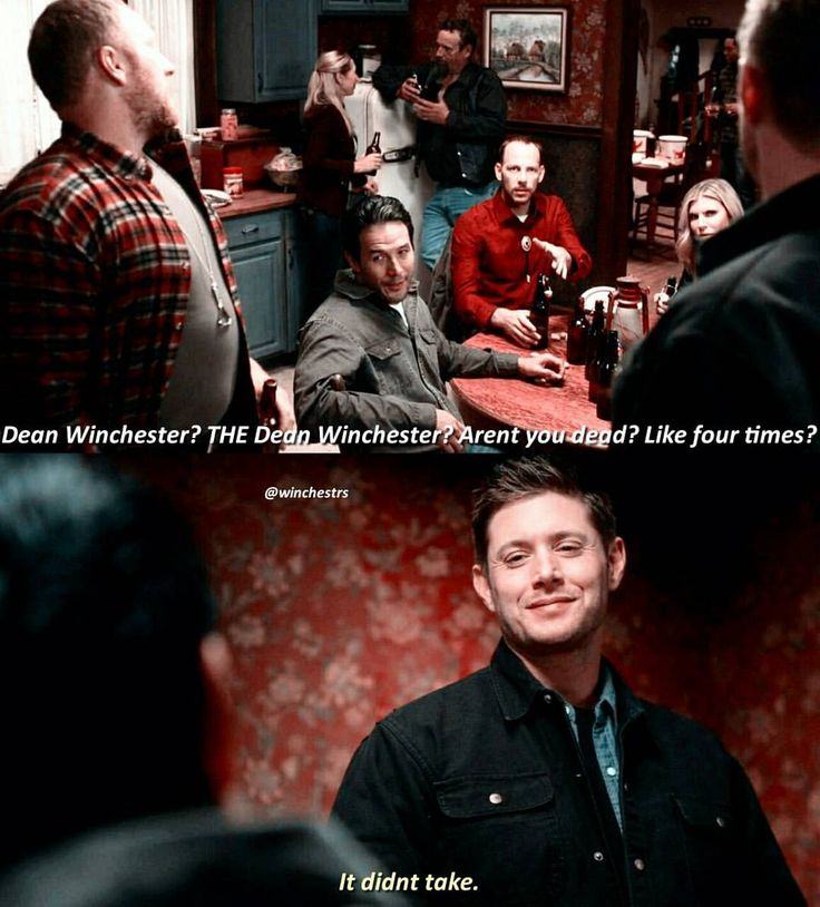 Thank goodness... 12x06. I loved this episode cuz I've always wondered what other hunters thought of them.