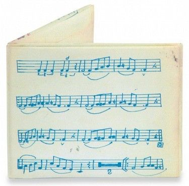 Peněženka #mightywallet Music Sheet Mighty Wallet. #bontonland Kupte i nás:  http://www.bontonland.cz/music-sheet-mighty-wallet/