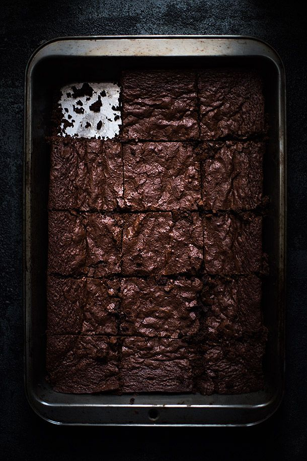 The Best Chewy Fudge Brownies | Grain free, Gluten free, refined sugar free | Slim Palate