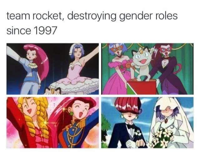 Pokemon Team Rocket REPRESENTATION