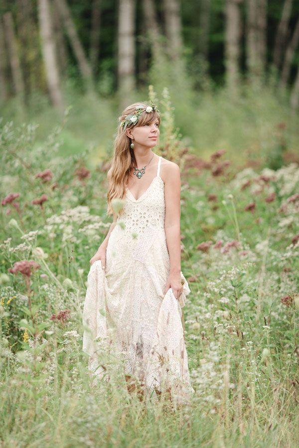 Chic Boho Country Bridal Style