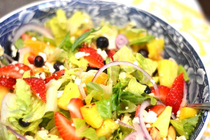 Summer Salad & Vinaigrette - Homejoy   Recipies and Yummy Delights ...