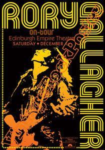 Cod. 176  Rory GALLAGHER  Edinburgh Empire Theatre  Edinburgh  Scotland  1 December 1973