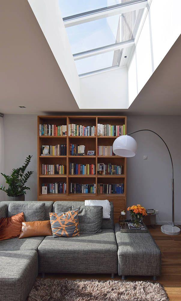 Uitbouw met daklicht (Van Lumen Architectuur)