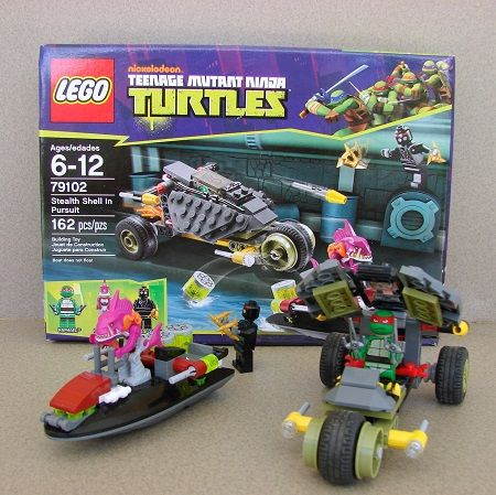 Teenage Mutant Ninja Turtles Lego Stealth Shell In Pursuit Set 79102