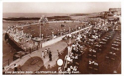 Cliftonville Lido Looking East