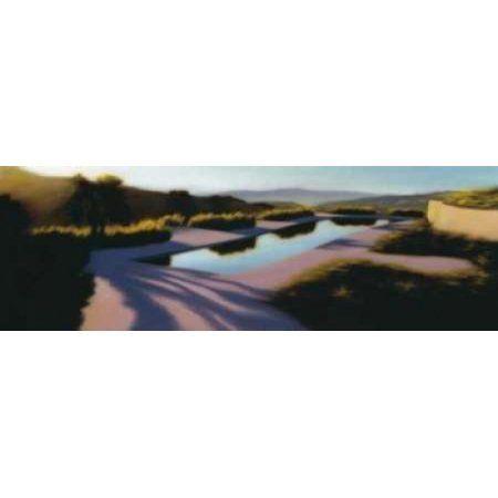 California Psychic Canvas Art - Rick Monzon (12 x 36)