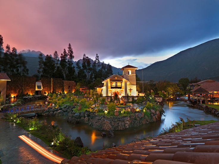 #6 - Cuzco, Peru. Lounging on the beach for a honeymoon is nothing to sneeze at, but the newlyweds who want something different should try staying at one of these luxury hotels in an these unusual honeymoon locations. Pictured: Aranwa Sacred Valley in Cusco, Peru
