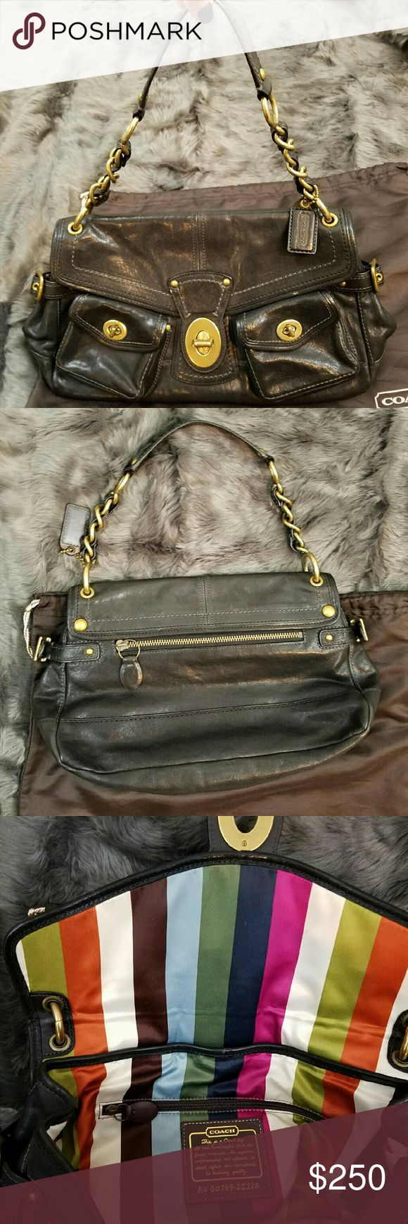 Rare Coach Legacy Leigh Satchel Excellent condition! I only carried it a few times for special occasions. Comes with dust bag. Coach Bags Satchels
