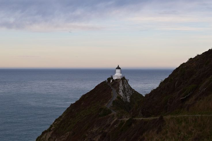 Nugget Point Lighthouse, Southern New Zealand