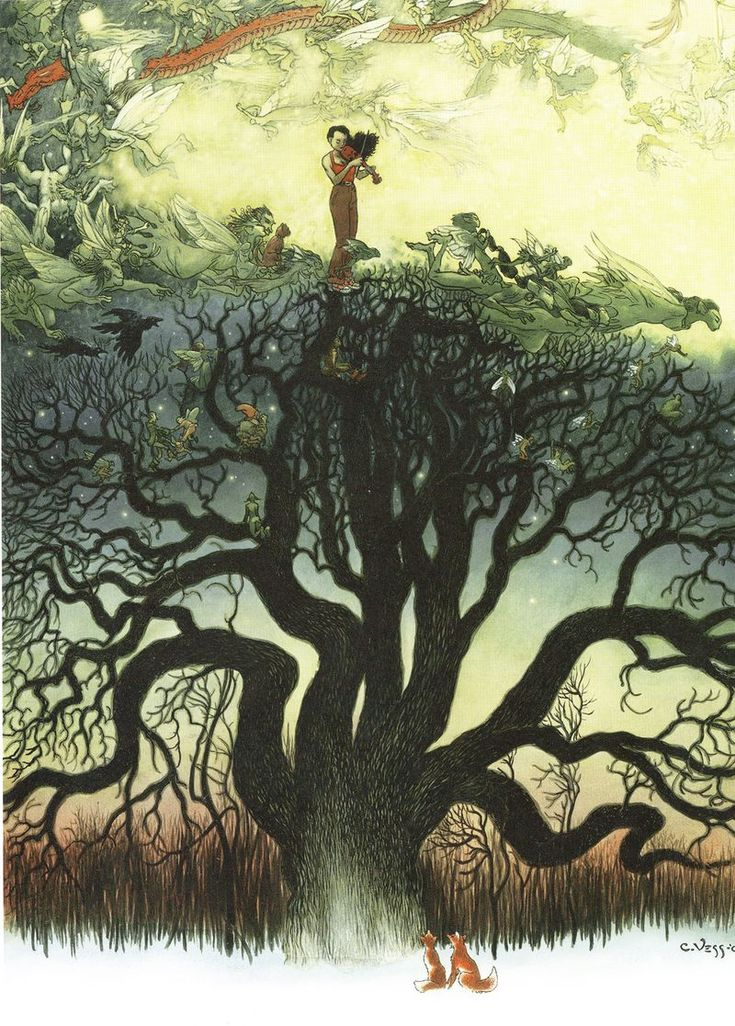Charles Vess, The Faery Reel: