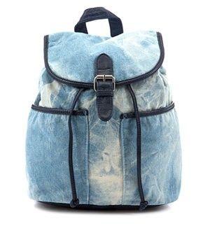 Teens Blue Denim Backpack.denim backpacks for fashion girls.  #girls #backpacks #fashion www.loveitsomuch.com