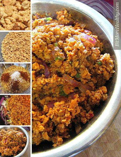 Textured vegetable protein has admirers and haters. Try this recipe for a succulent, canivore-satisfying, versatile meat substitute.