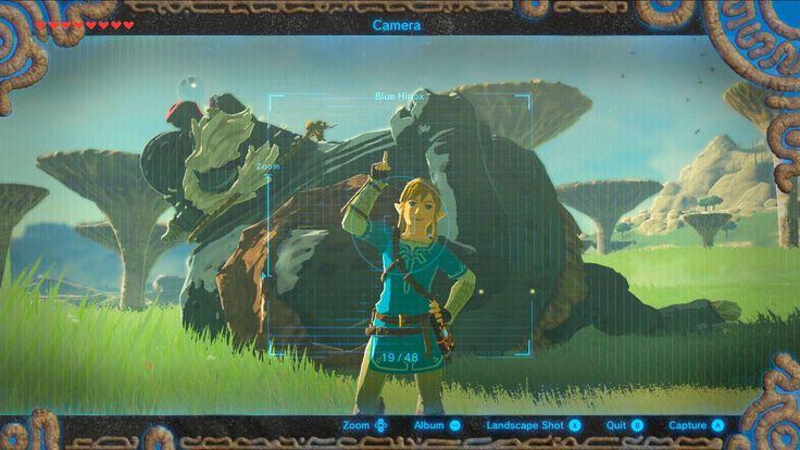 New Breath Of The Wild Screenshot Shows Off Camera Mode – Zelda Informer