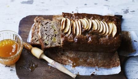 Loaf cake with apple and cinnamon - http://www.bbc.co.uk/food/recipes/apple_and_cinnamon_loaf_75570