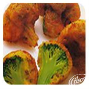 Cheesy Deep-Fried Broccoli from Crisco®