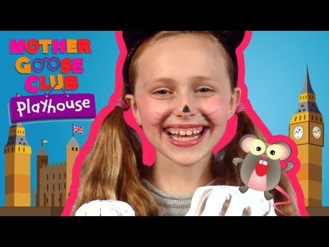 ▶ Pussy-Cat, Pussy-Cat - Mother Goose Club Playhouse Nursery Rhymes - YouTube