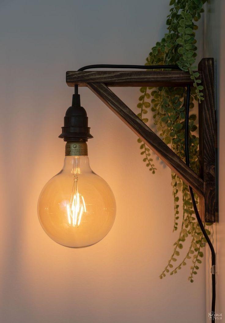 Diy Corbel Sconces Diy Sconces Wall Lights Diy Wall Lamps Diy