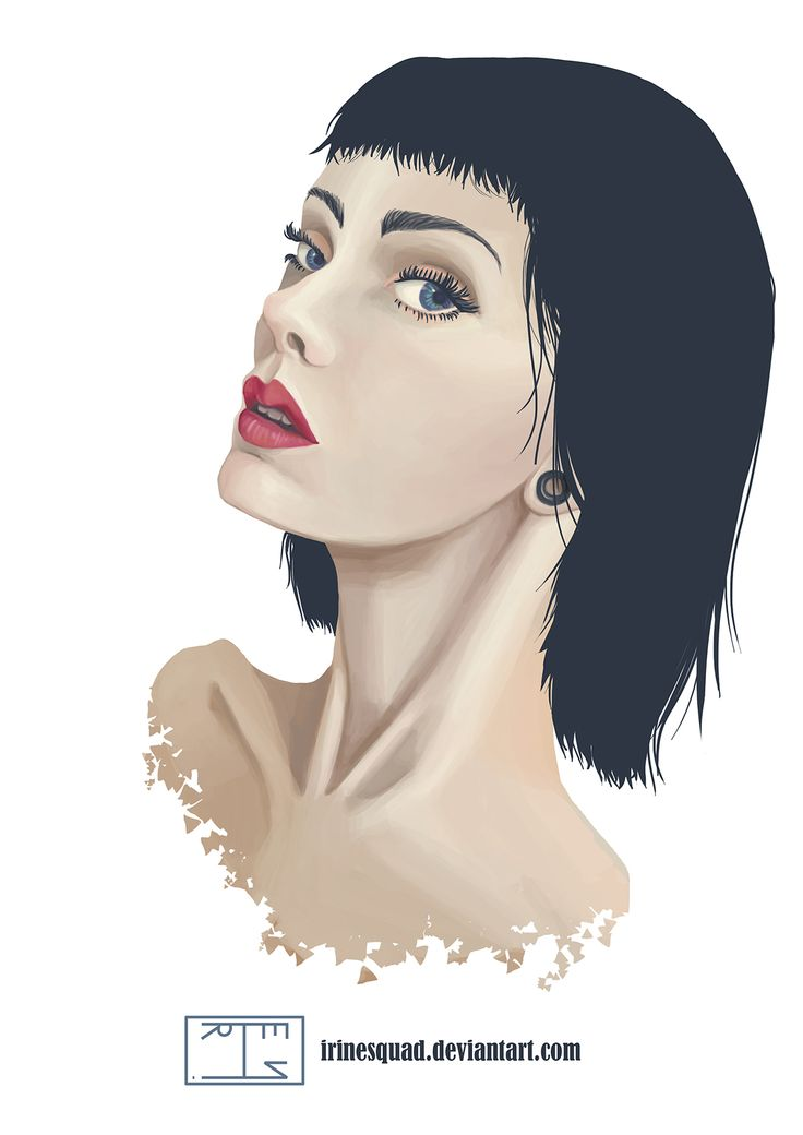 "Dei Pronko ""Irine Squad"" - Girl portrait on Behance"