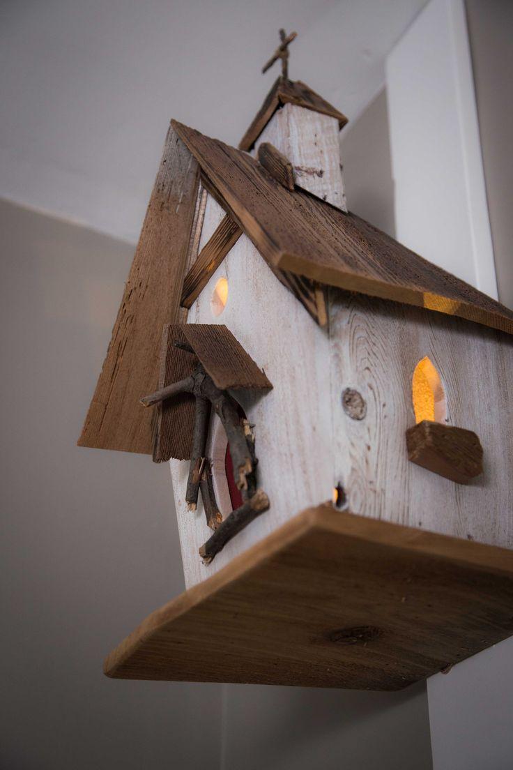 Nursery. Church birdhouse nightlight.
