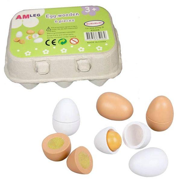 Mamamemo Æggebakke med æg i træ