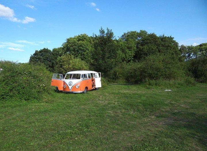 Norfolk Brickyard, Peterstone, Norfolk. England. UK. Rural. Campsite. Camping. Travel. Holiday.