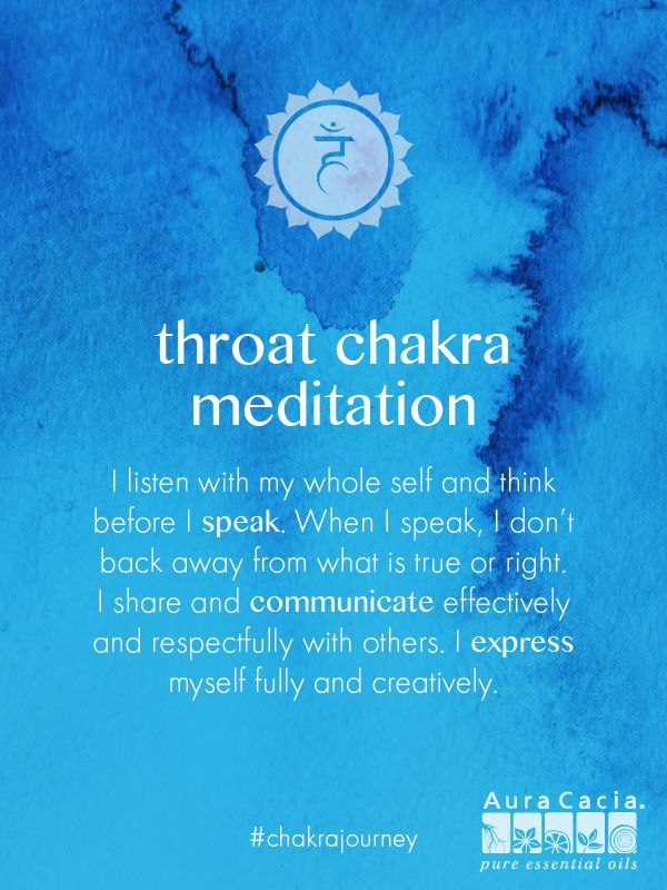 This guided meditation will help you better express yourself. #throatchakra #chakrajourney More