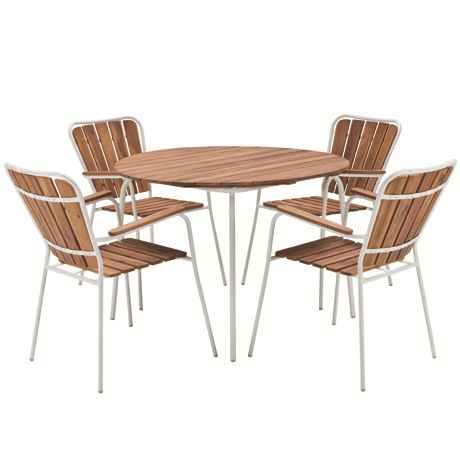 Purchase 4 Terrace Dining Chairs & Get The Dining Table Free