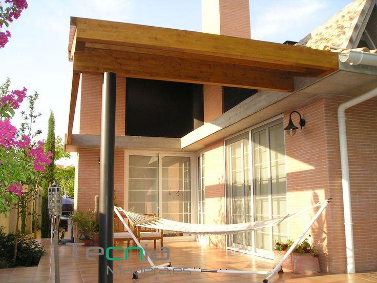 76 best porches y p rgolas de madera images on pinterest arbors get a life and sevilla - Pergolas de madera en sevilla ...
