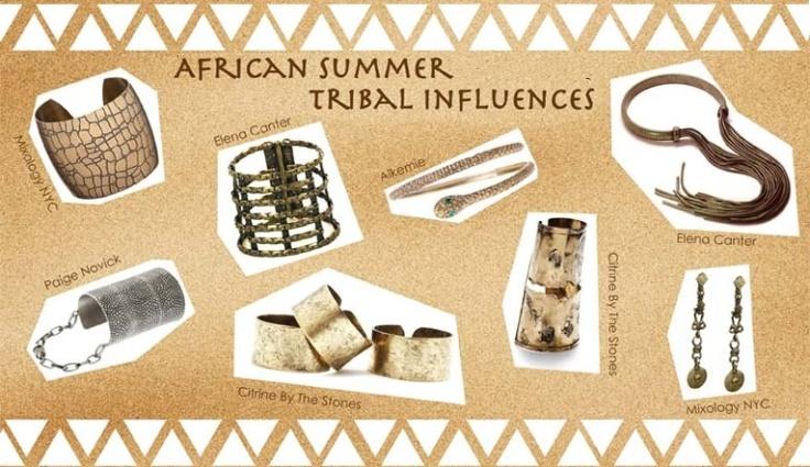 African Summer Tribal Influences