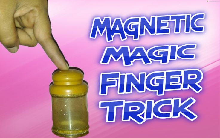 Magnetic Finger Magic Trick! REVEALED - SrijanShow