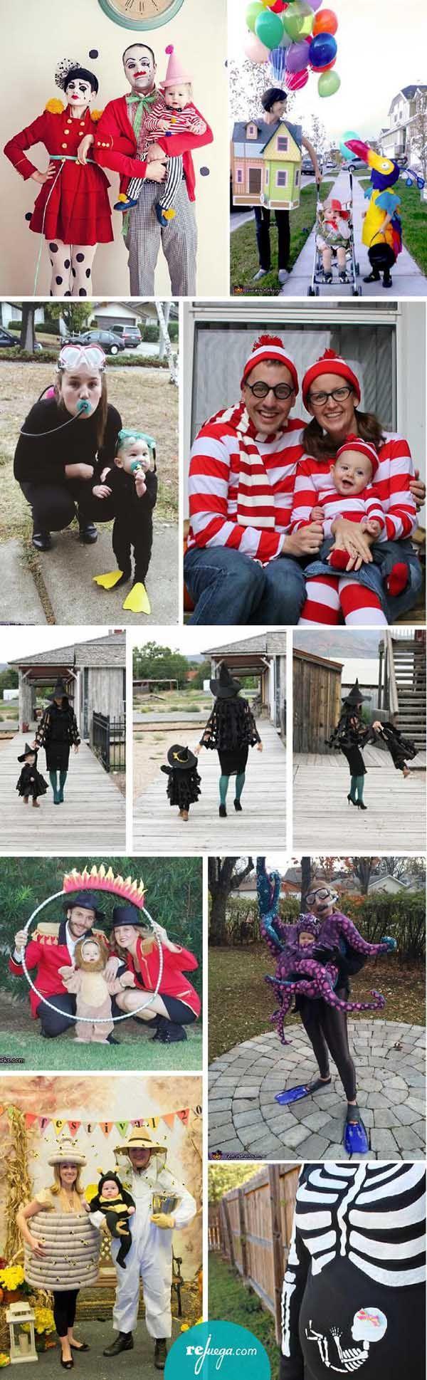 disfraces para familia con niños pequeños